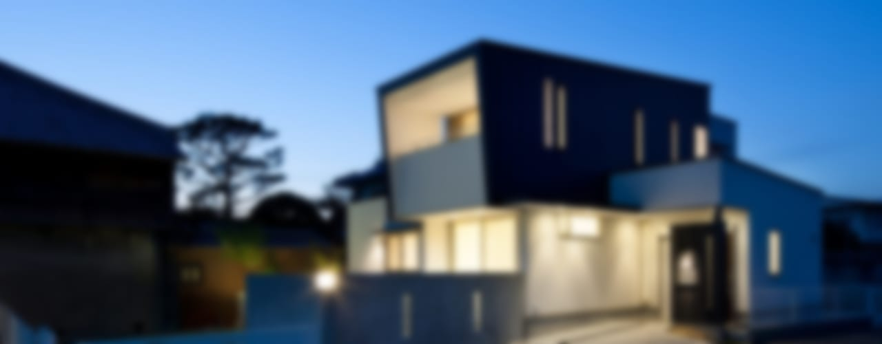 M・K-home モダンな 家 の 一級建築士事務所 想建築工房 モダン