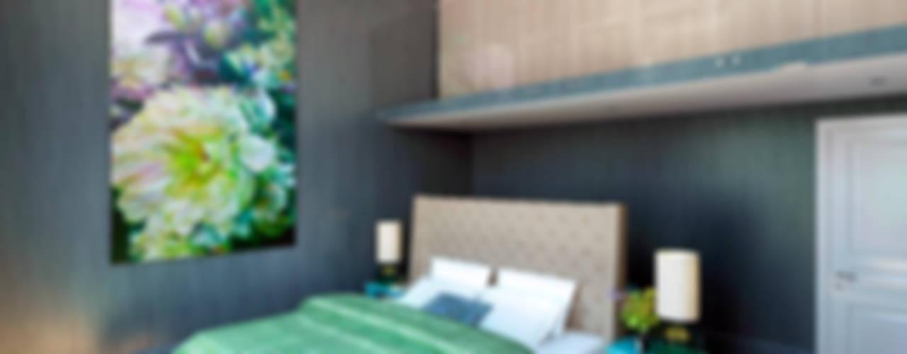 Dormitorios de estilo ecléctico de lab21studio Ecléctico