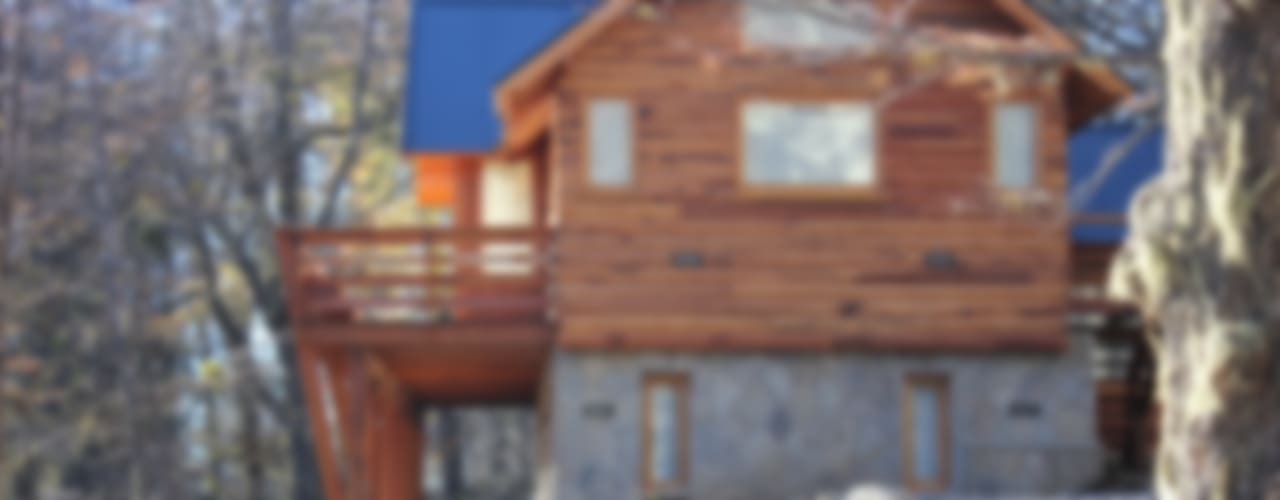 Klasyczne domy od Aguirre Arquitectura Patagonica Klasyczny
