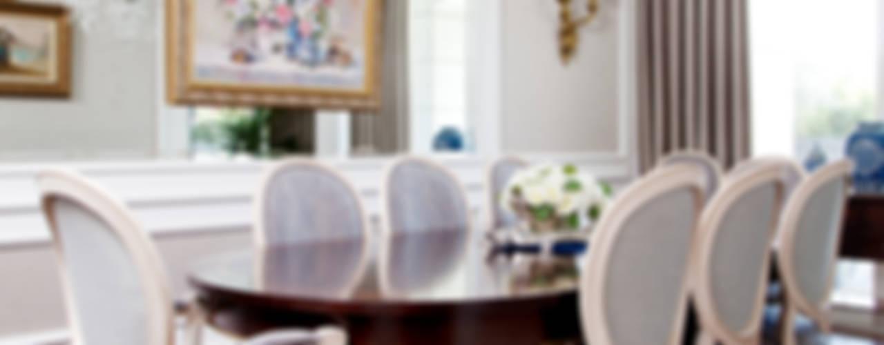 Kerim Çarmıklı İç Mimarlık – ÇUBUKLU VADİ EVİ:  tarz Yemek Odası