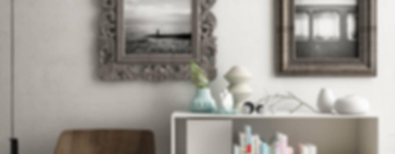 Concept living Studiod3sign Ingresso, Corridoio & ScaleContenitori