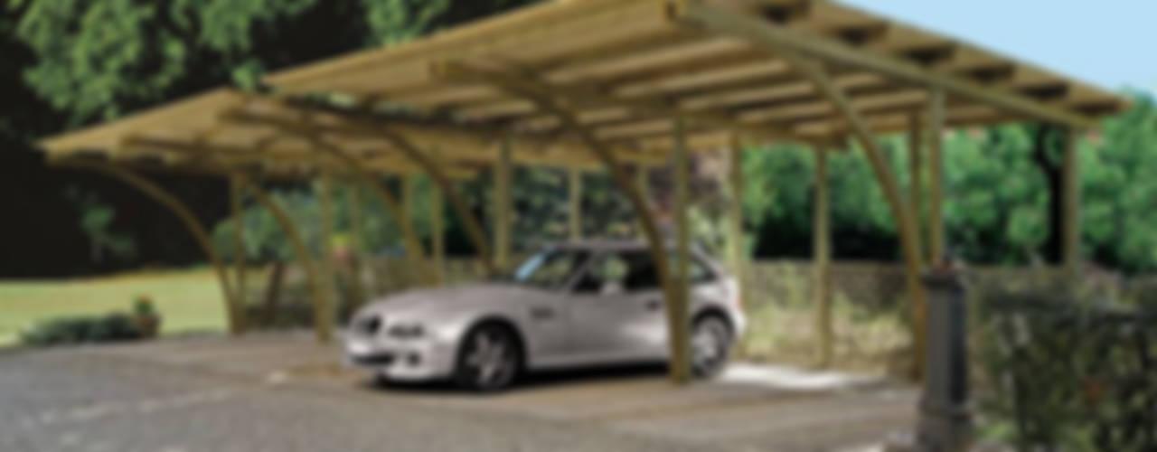 Гаражи в . Автор – FRANCE ABRIS : Spécialiste  abri de jardin, garage, carport,