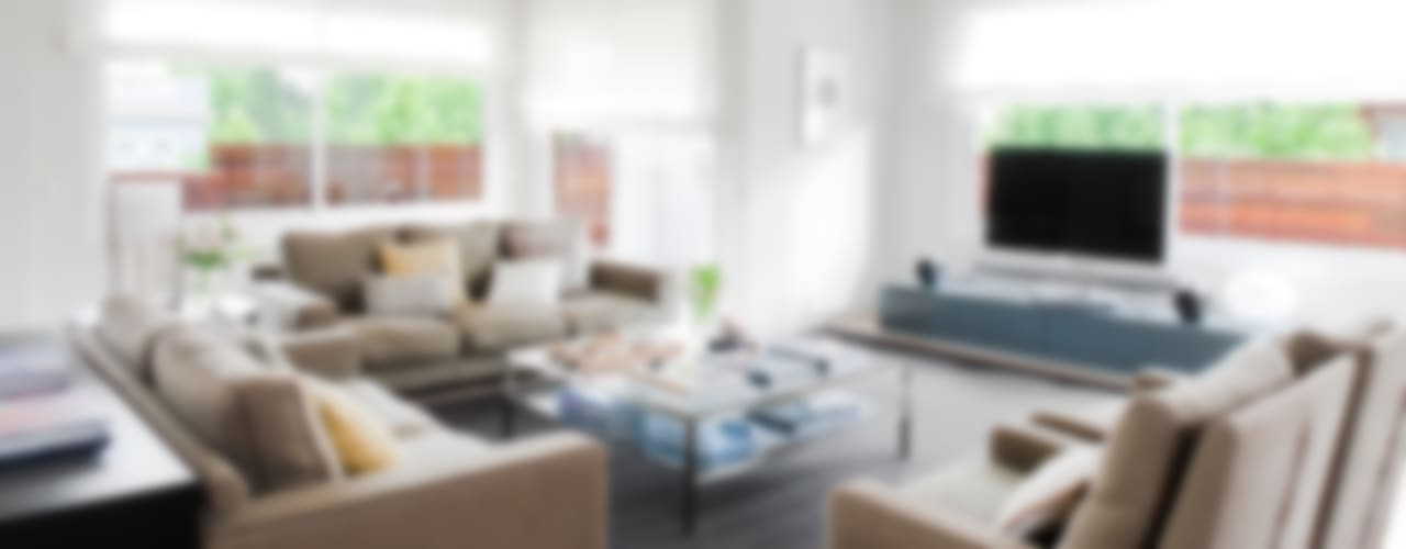 Salas / recibidores de estilo  por A! Emotional living & work, Minimalista
