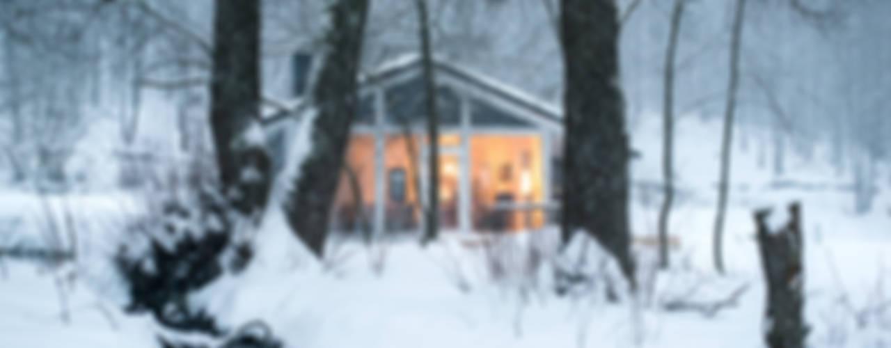 Ferienhaus Lichtung       im grünen Herzen Deutschlandが手掛けた家