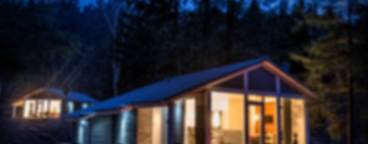 Ferienhaus Lichtung im grünen Herzen Deutschland Scandinavian style houses