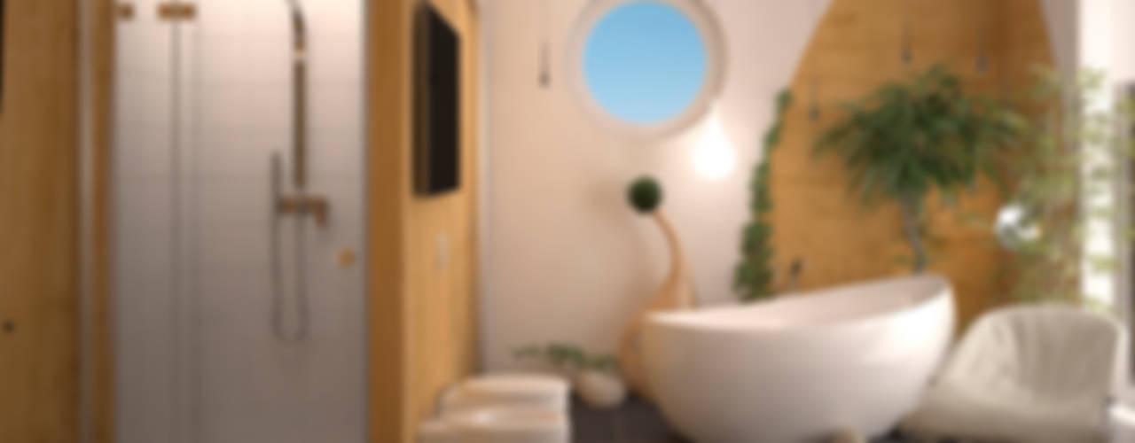 Bathroom by Инна Меньшикова, Tropical