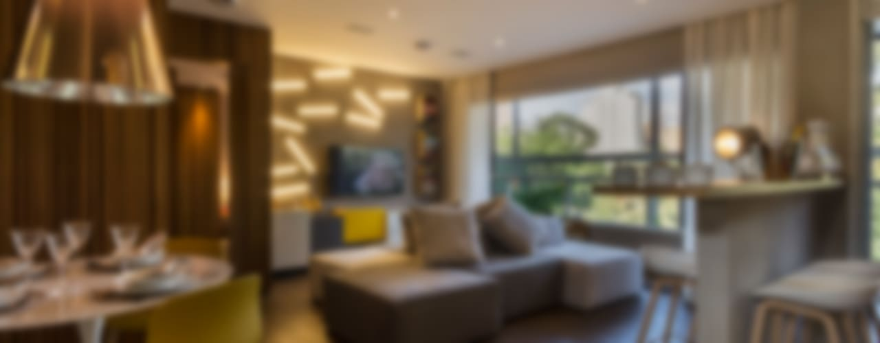 Studiodwg Arquitetura e Interiores Ltda. 의  거실, 미니멀