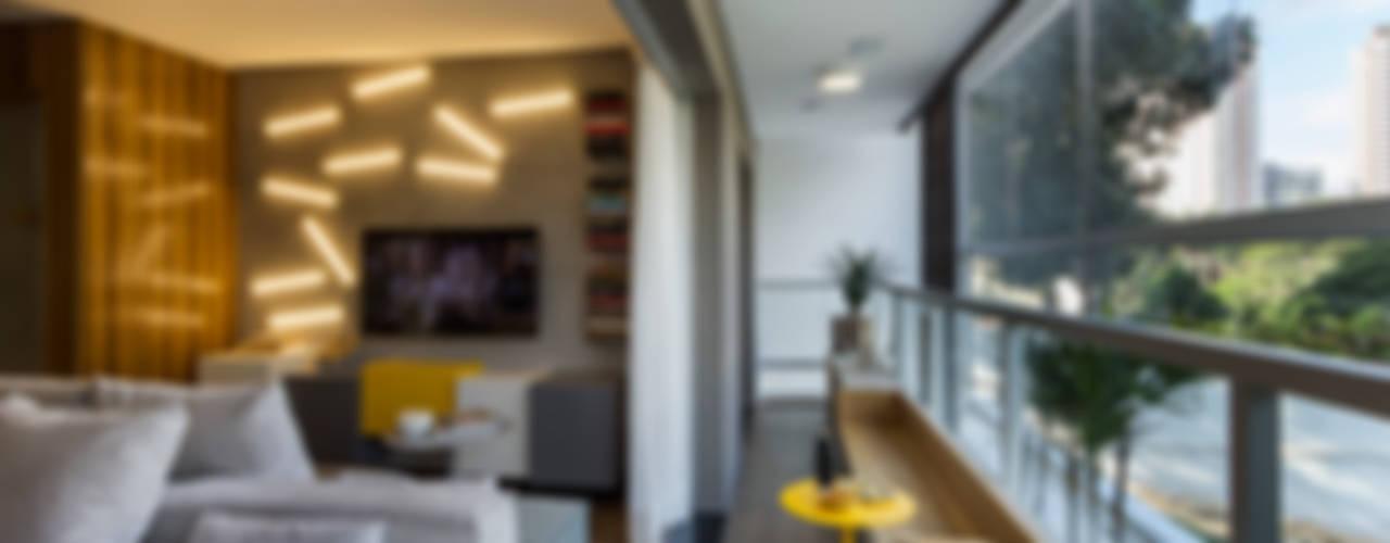 Salas de estilo moderno de Studiodwg Arquitetura e Interiores Ltda. Moderno