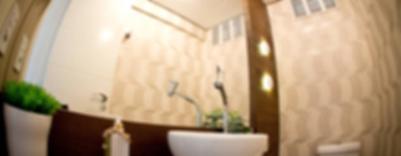 Apartamento Menino Deus Banheiros ecléticos por INOVA Arquitetura Eclético