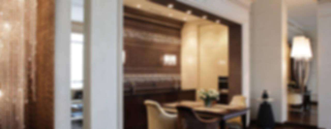 """""""IMPERIAL"""" Квартира в Москве Кухни в эклектичном стиле от Лена Инашвили Art at Home Эклектичный"""