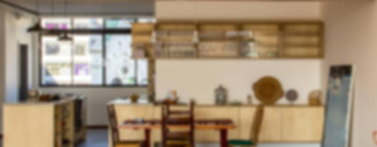 APARTAMENTO ROOSEVELT 1 Cozinhas modernas por Ruta arquitetura e urbanismo Moderno