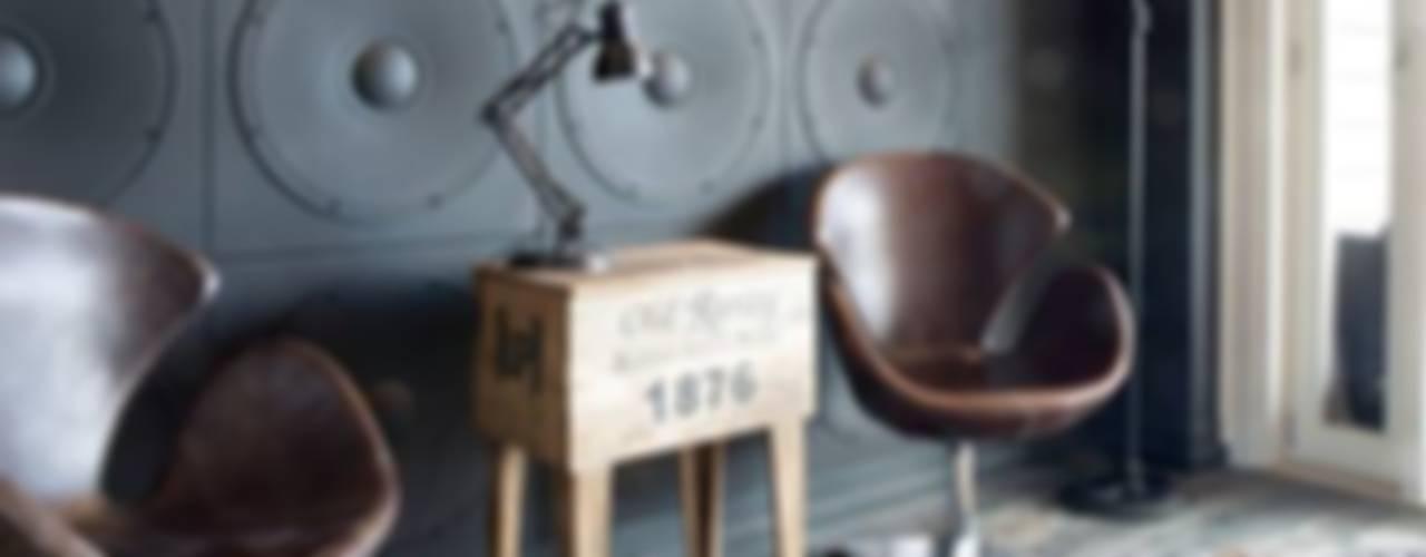 Paredes y pisos industriales de Loft Design System Deutschland - Wandpaneele aus Bayern Industrial