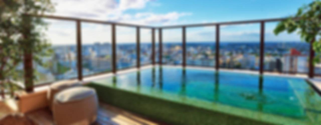 Pool by Tellini Vontobel Arquitetura, Modern