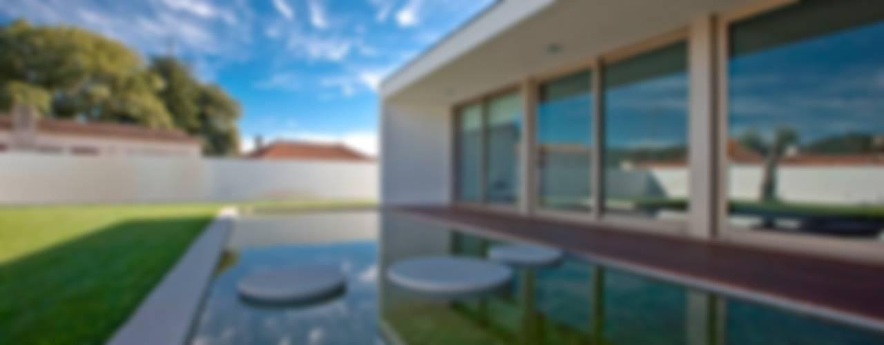 Casa SG Casas modernas por Atelier Lopes da Costa Moderno