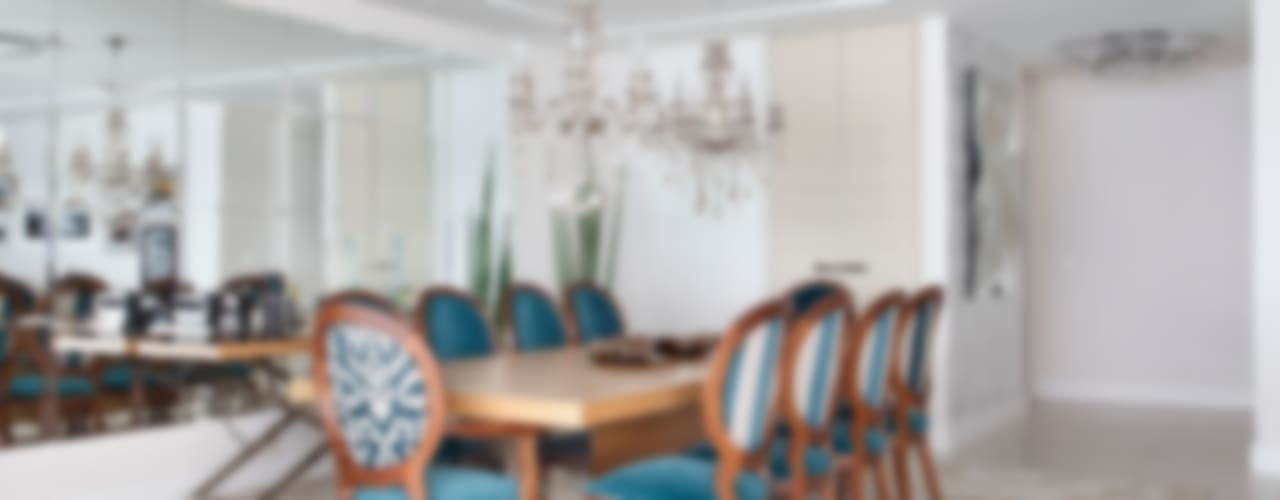 Apartamento na Barra da Tijuca Salas de jantar clássicas por Ana Adriano Design de Interiores Clássico