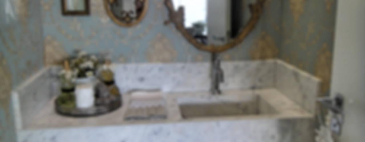 Projeto Residencial em Itapema, SC-BR: Banheiros  por Gabriela Herde Arquitetura & Design,