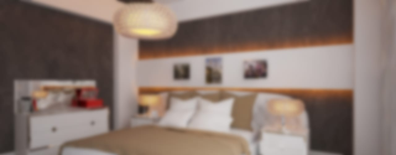 İNDEKSA Mimarlık İç Mimarlık İnşaat Taahüt Ltd.Şti. ChambreAccessoires & décorations