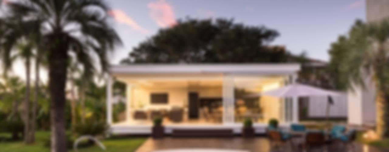 D&G.P - 2015 - QUIOSQUE DA ILHA DOS MARINHEIROS: Casas  por Kali Arquitetura