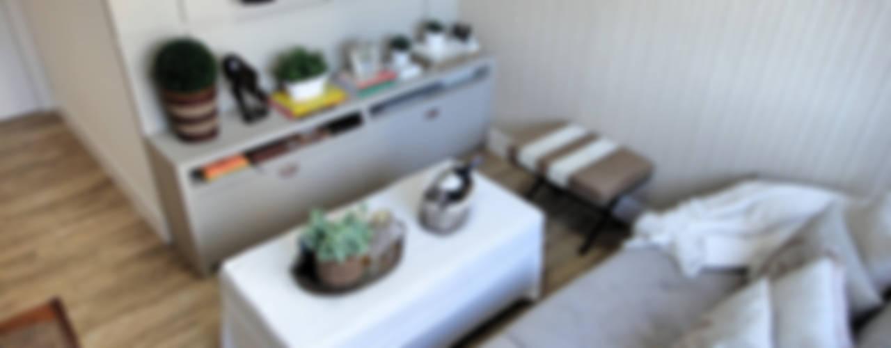 Projeto Residencial em Itapema, SC-BR Salas de estar rústicas por Gabriela Herde Arquitetura & Design Rústico