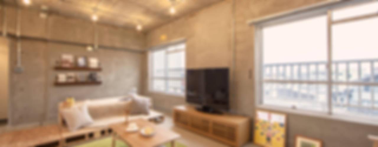【Renotta】求めるままに組み替えられる部屋 モダンデザインの リビング の 株式会社クラスコデザインスタジオ モダン