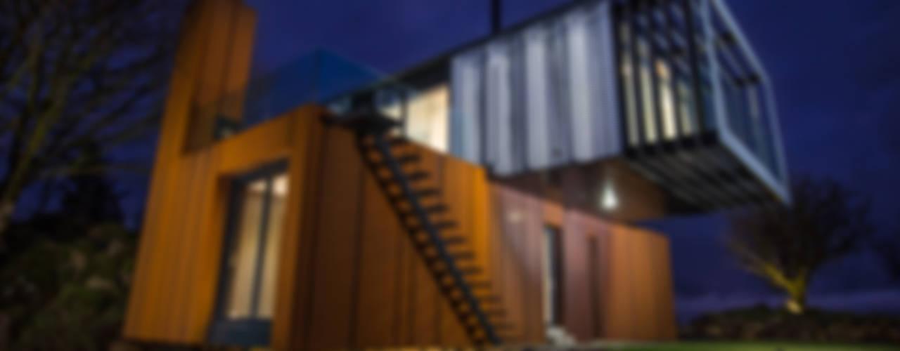 Casas de estilo  por Patrick Bradley Architects