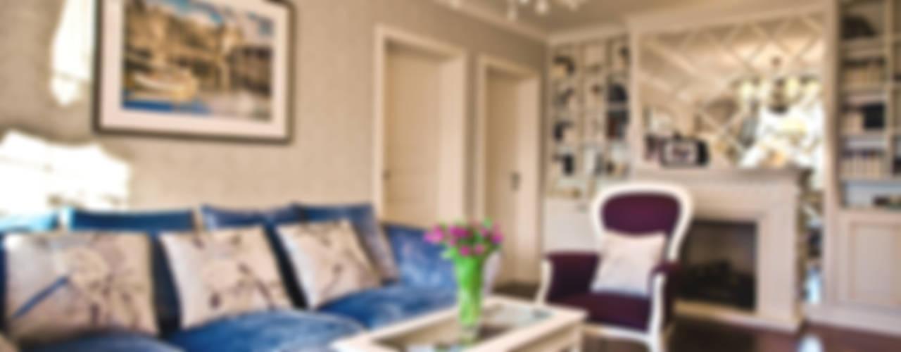 Salas de estar clássicas por Nataly Komova Clássico