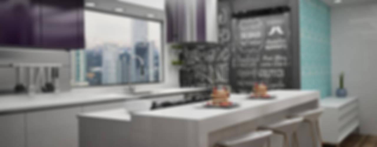 Cocinas Modernas: Cocinas de estilo  por Citlali Villarreal Interiorismo & Diseño, Moderno
