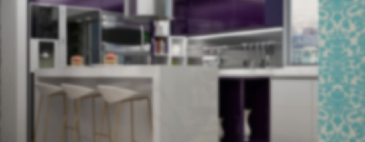 Cozinhas modernas por Citlali Villarreal Interiorismo & Diseño Moderno