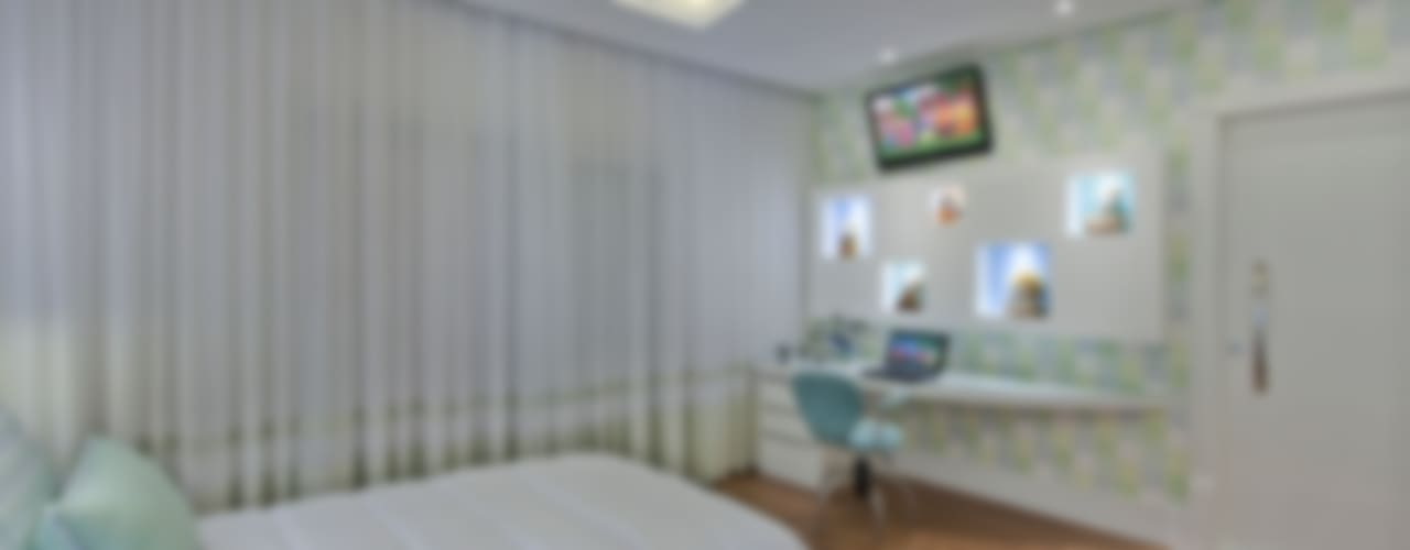 Nursery/kid's room by Arquiteto Aquiles Nícolas Kílaris