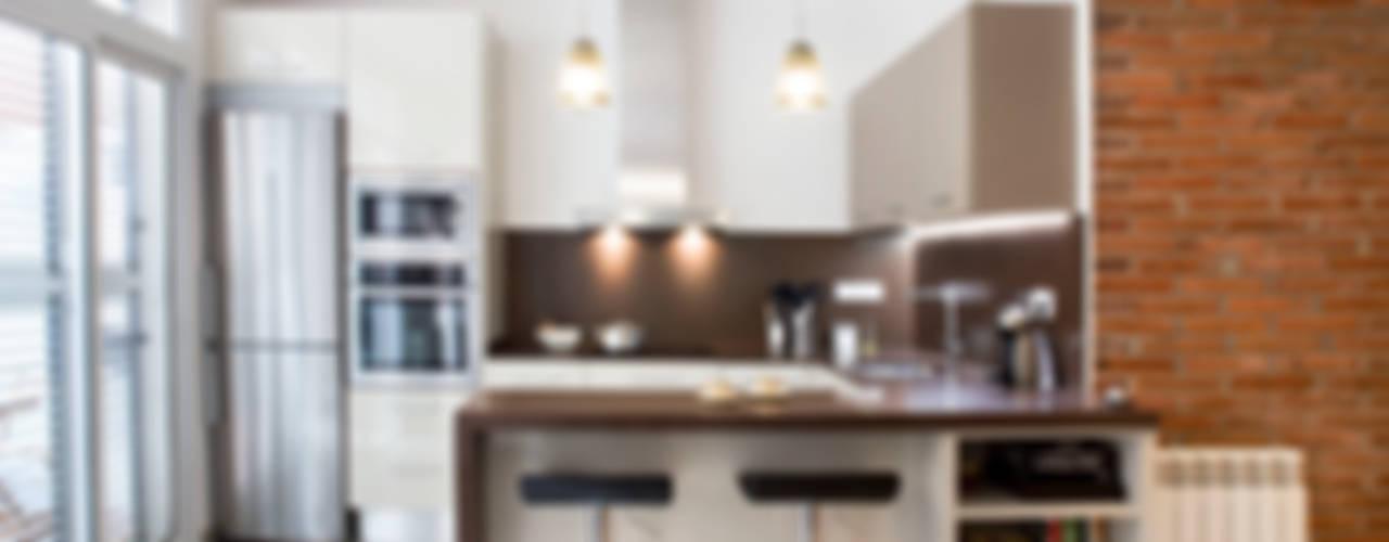 Cocinas de estilo mediterráneo de GPA Gestión de Proyectos Arquitectónicos ]gpa[® Mediterráneo