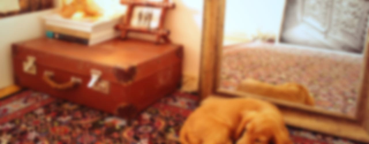 Проект спальни: до и после:  в . Автор – L'Essenziale Home Designs, Эклектичный