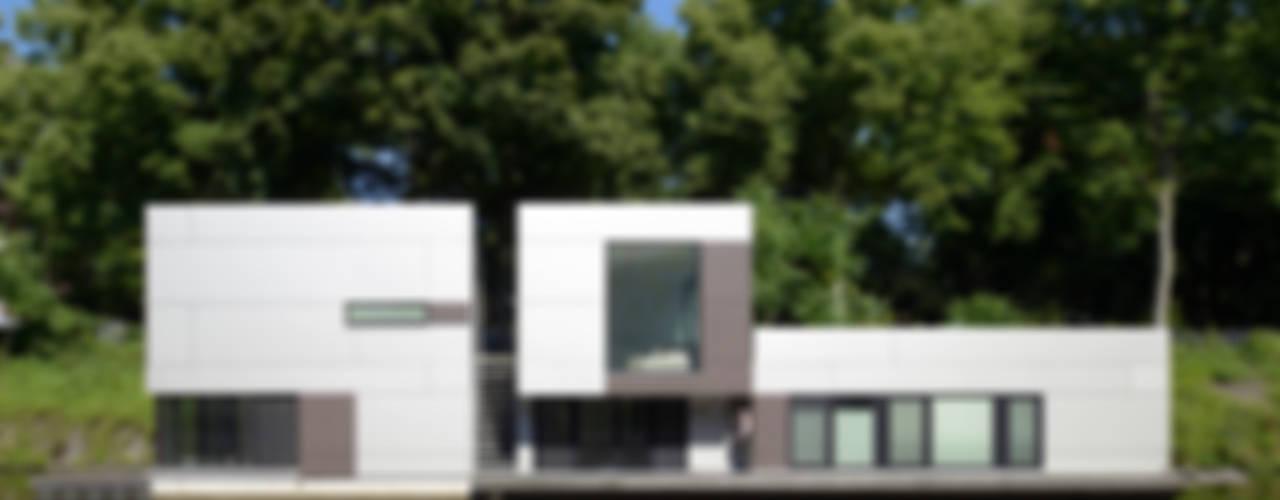 Hausboot am Eilbekkanal Hamburg:  Häuser von DFZ Architekten
