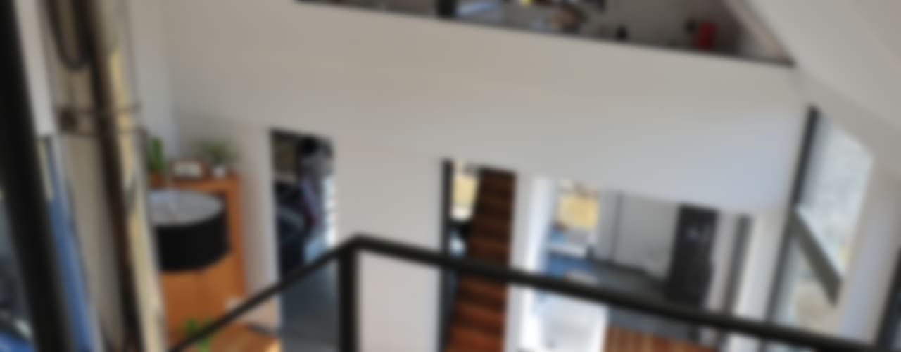 Moderne woonkamers van JEBENS SCHOOF ARCHITEKTEN Modern