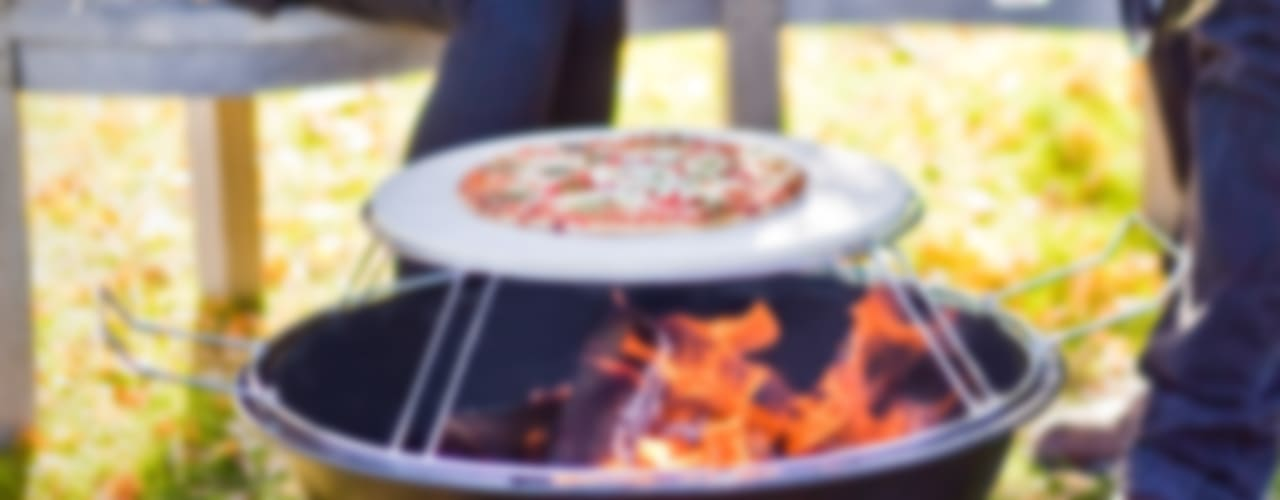 Multi-function wood fired outdoor ovens van La Hacienda Klassiek