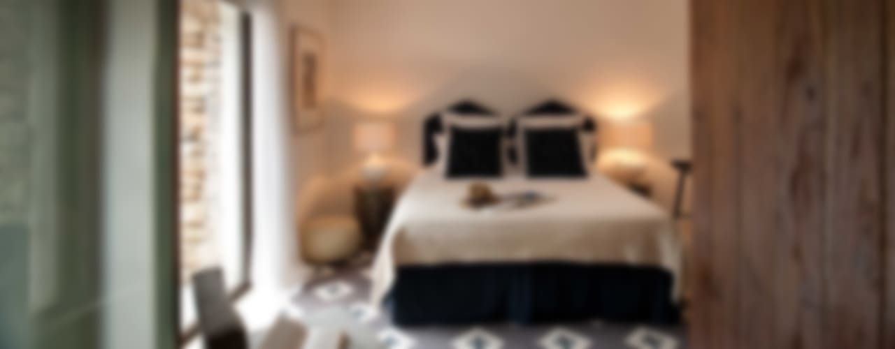 Ibiza House Mediterranean style bedroom by TG Studio Mediterranean