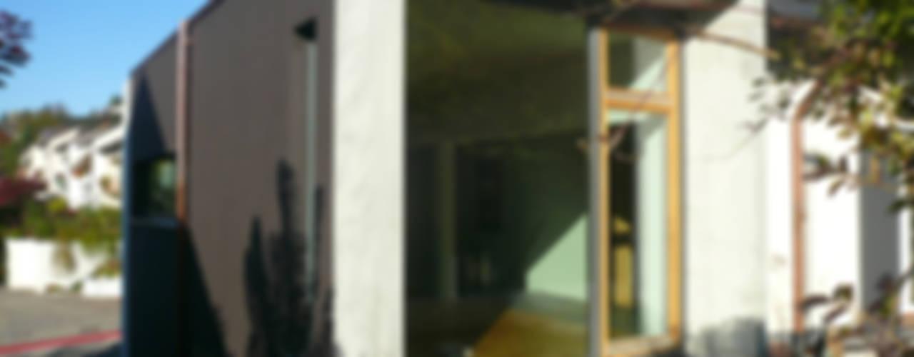 Südansicht:  Häuser von wilhelm und hovenbitzer und partner