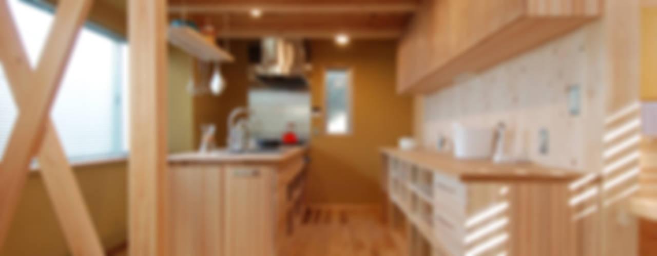 衣笠山の家(自宅): 豊田空間デザイン室 一級建築士事務所が手掛けたキッチンです。,オリジナル