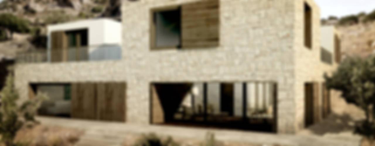 Mediterranean style house by ADAPT Arquitectos Mediterranean