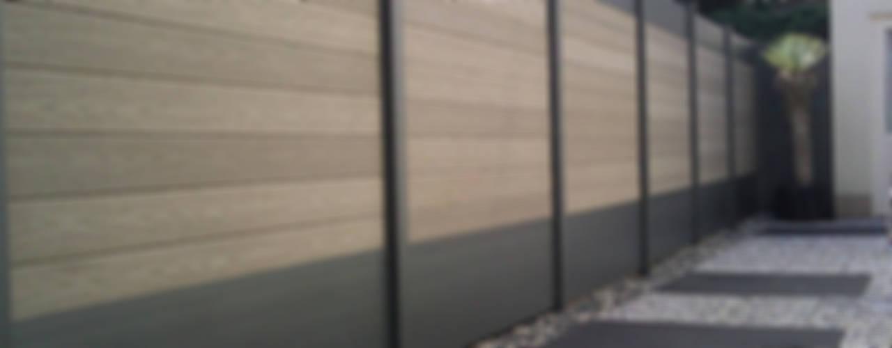 Deck-linéa Jardins modernos