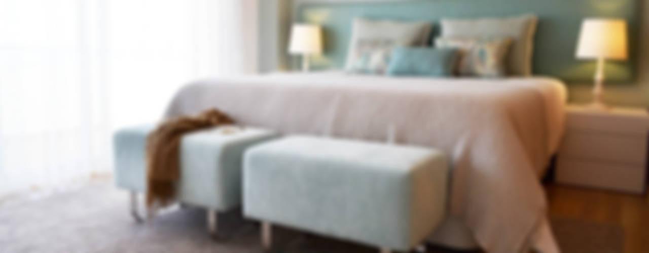 Kamar Tidur oleh T2 Arquitectura & Interiores, Eklektik