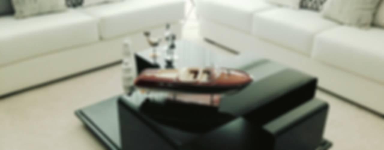 ICON: Salas de estilo  por DECO Designers