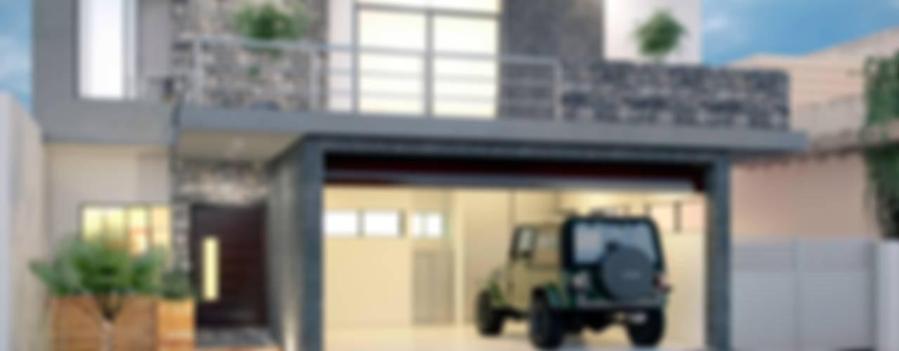 E2 House Minimalist houses by arQing Minimalist