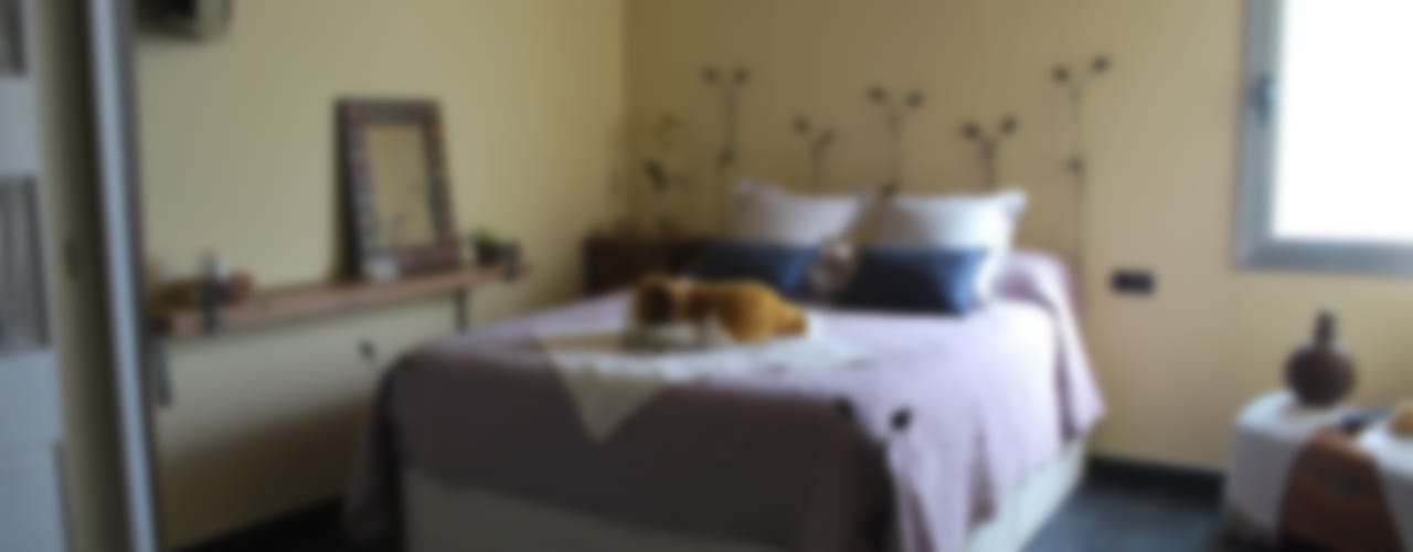 Vicente Galve Studio Спальня в стиле лофт