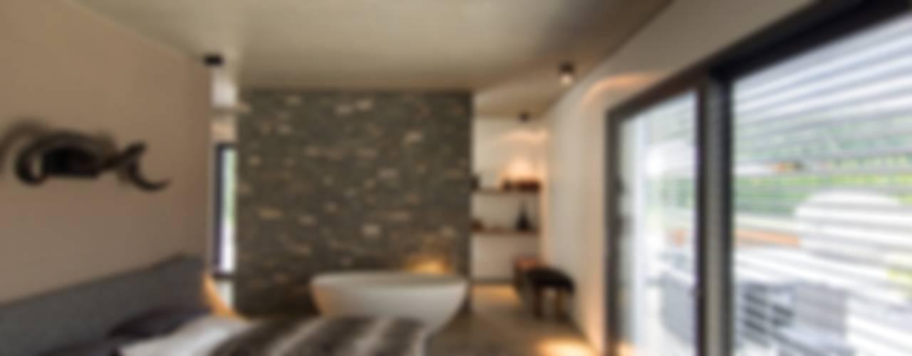 Haus_gra Moderne Schlafzimmer von aprikari gmbh & co. kg Modern
