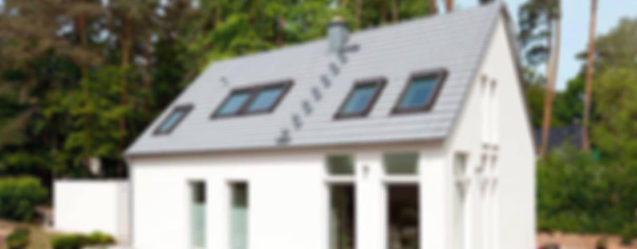 Minimalistische huizen van Müllers Büro Minimalistisch