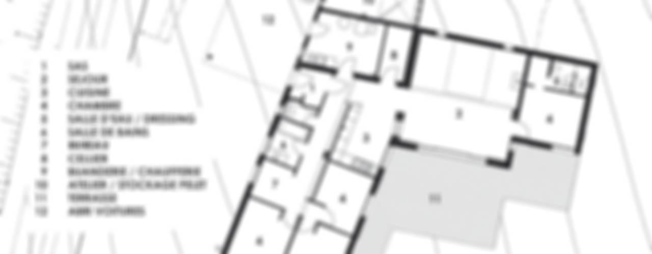 Maison à basse consommation d'énergie Atelier E