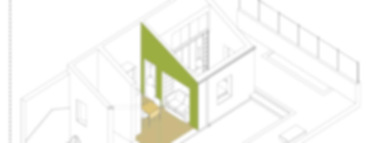 Ristrutturazione E_07 di Studio Proarch Moderno