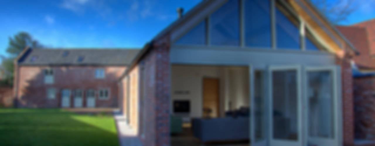 Mellor Barns - Staffordshire Alrewas Architecture Ltd Casas modernas