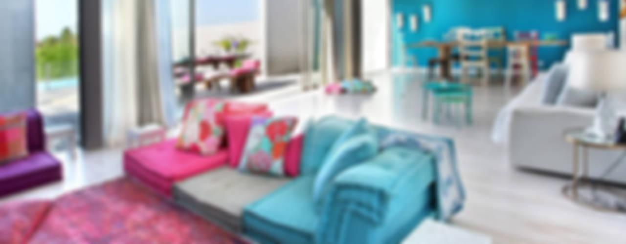 HAPPY HOME 2014 Salas de estar mediterrânicas por ROSA PURA HOME STORE Mediterrânico
