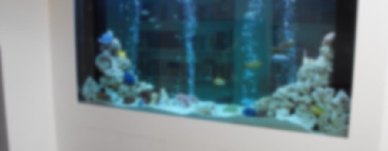 Gang en hal door Aquarium Services